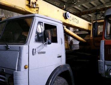 Автокран КамАЗ - выкуп в Челябинске
